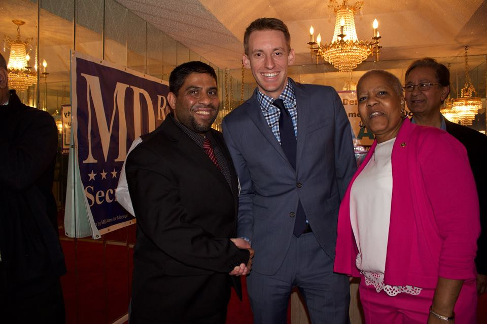 MD ALAM WITH JASON KANDER, BONNAYE MIMS AND ANWAR KHAN