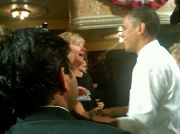MD ALAM AND OTHERS WITH PRESIDENT OBAMA