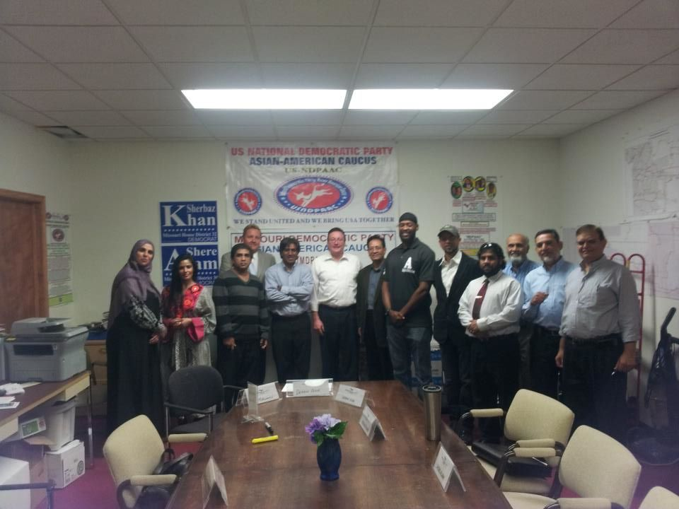 MD ALAM WITH MDPAAC AND MIKE SANDERS AND OTHERS